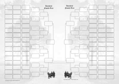 photo about Free Printable 10 Generation Pedigree Chart named 12 output pedigree chart -